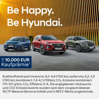 Be Happy. Be Hyundai.